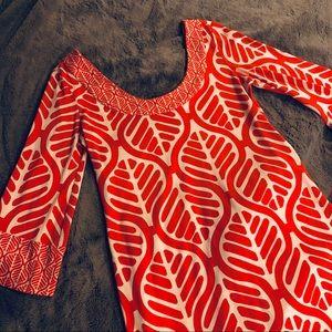 """Diane Von Furstenberg """"Vintage"""" Shift Dress"""